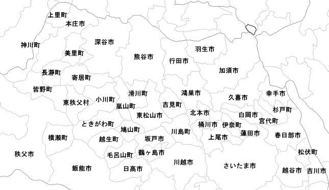 粗大ゴミ・廃品回収 出張エリア / 埼玉県の大半へ伺います。